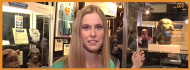 G4TV-Blair-Butler-Comic-Con-Coverage-Prop-Store-of-London-x380