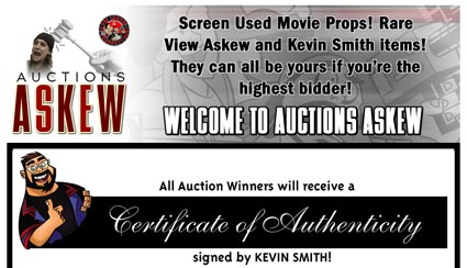 "Kevin Smith ""Screen Used Movie Props"" Auctions from View Askew, Auctions Askew"