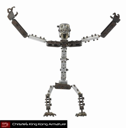 Christies-Auction-King-Kong-Original-Armature-Movie-Prop-FULL-POSE [x425]