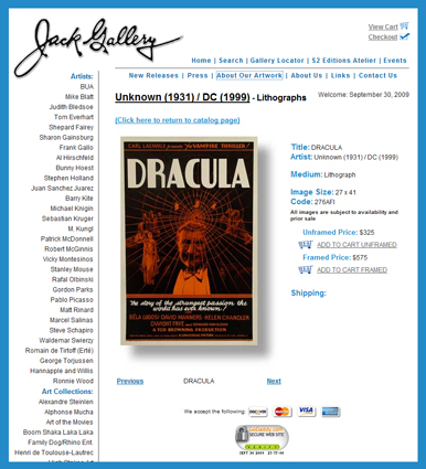 S2-Art-Dracula-1931-Poster-One-Sheet-Lithograph-Reproduction-Archive-x425