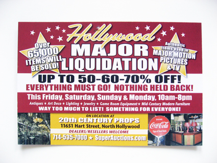 20th Century Props Liquidation Continues; Prop Rental Business Listed on eBay for $1.5 Million Dollars