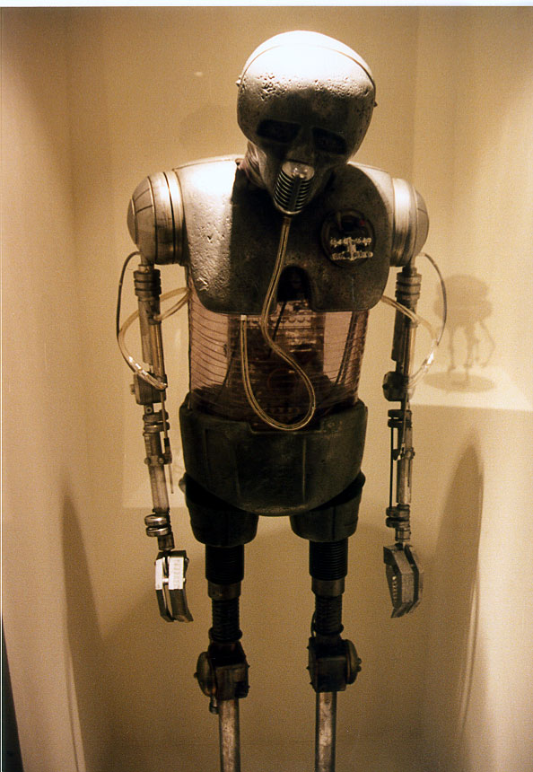 "Photography from 1995's ""Art of Star Wars"" Original Movie Prop, Costume, & Model Exhibition"