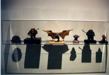 Art-of-Star-Wars-Exhibit-1995-Original-Prop-Blog-Ewoks [x425]