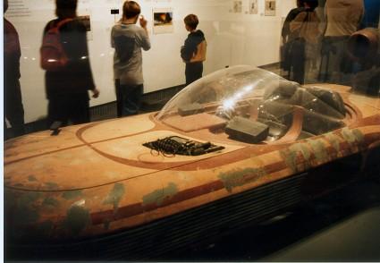 Art-of-Star-Wars-Exhibit-1995-Original-Prop-Blog-Landspeeder-1 [x425]