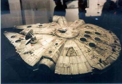 Art-of-Star-Wars-Exhibit-1995-Original-Prop-Blog-Millenium-Falcon-1 [x425]