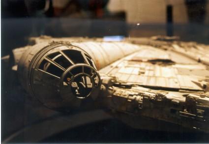 Art-of-Star-Wars-Exhibit-1995-Original-Prop-Blog-Millenium-Falcon-2 [x425]