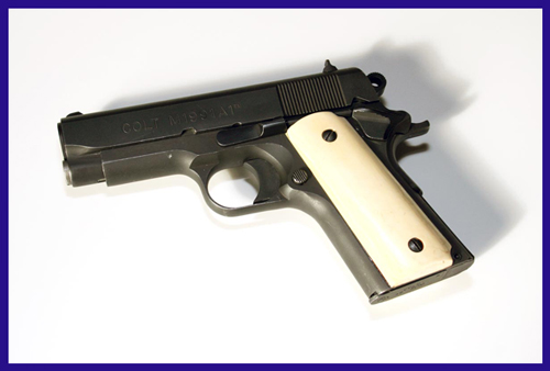 "Al Pacino's Hero M1991A1 Series 80 Colt Officer's APC Original Movie Prop Gun from Michael Mann's ""Heat"""
