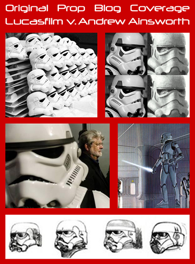 Lucasfilm Strikes Back Against Andrew Ainsworth In Trademark, Copyright Dispute Over Movie Prop Stormtrooper Helmets