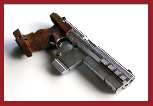 "Bridget Fonda's Hero Hammerli Model 280 Semi-Auto Original Movie Prop Gun from ""Point of No Return"""