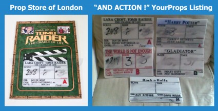 Concerns in Marketplace Over Authenticating Movie Prop Slates & Clapperboards: Update 1