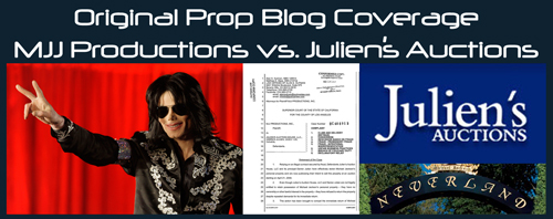 Julien's Auctions Continues To Fight Michael Jackson-Related Lawsuits