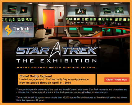 "KMVT Community Television Program on ""Star Trek: The Exhibition"" in San Jose"