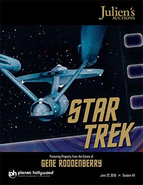 Julien's Auctions Announces More Details on Star Trek Auction Event, Now Includes Memorabilia from Gene Roddenberry Estate