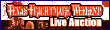 "Premiere Props ""Texas Frightmare Weekend Live Auction"" Catalog Online, Event May 1st"