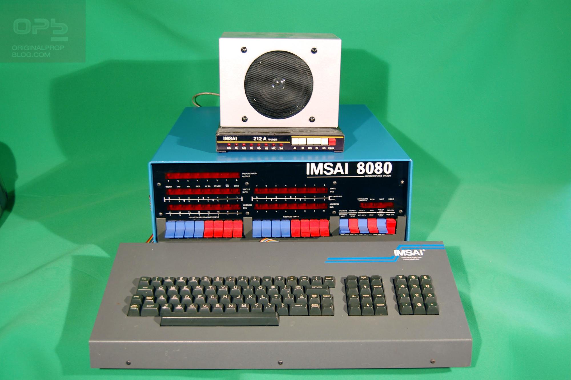 """""""Shall We Play A Game?"""" Original IMSAI 8080 Computer Movie ..."""