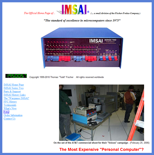 """Shall We Play A Game?"" Original IMSAI 8080 Computer Movie Prop from WarGames to be Sold"