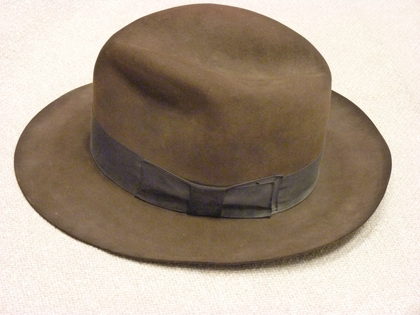 "Prop Fedora from ""Indiana Jones and the Kingdom of the Crystal Skull"" Realizes $19,500 in charitybuzz Auction"