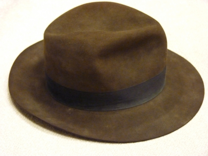 """Prop Fedora from """"Indiana Jones and the Kingdom of the"""