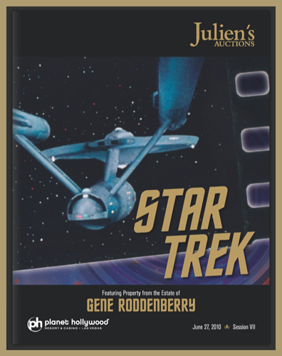 "Julien's Auctions 'Star Trek' Catalog Available Online, Part of ""Summer Sale"" June 2010 at Planet Hollywood in Las Vegas"