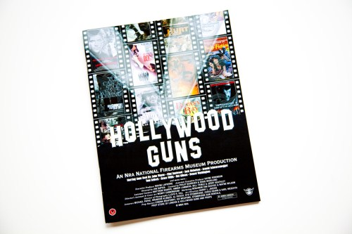 "NRA National Firearms Museum ""Hollywood Guns"" TV and Movie Prop Catalog Supplements Exhibit"