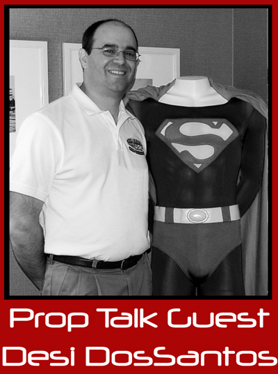 Prop Talk Podcast #007 – Desi DosSantos, ScreenUsed | Interview by The Original Prop Blog with Jason DeBord