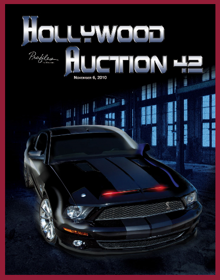 Profiles in History 'Hollywood Auction 42′ TV & Movie Prop Auction Catalog Available Online for Sale Event November 6th 2010