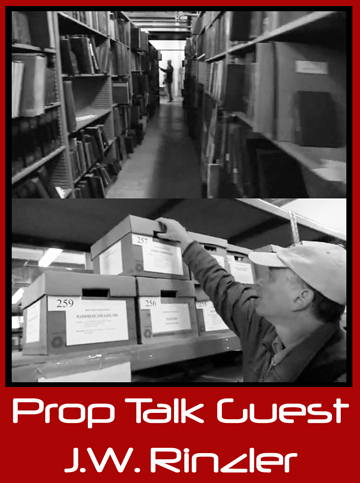 Prop Talk Podcast #009 – J.W. Rinzler, Lucasfilm | Interview by The Original Prop Blog with Jason DeBord