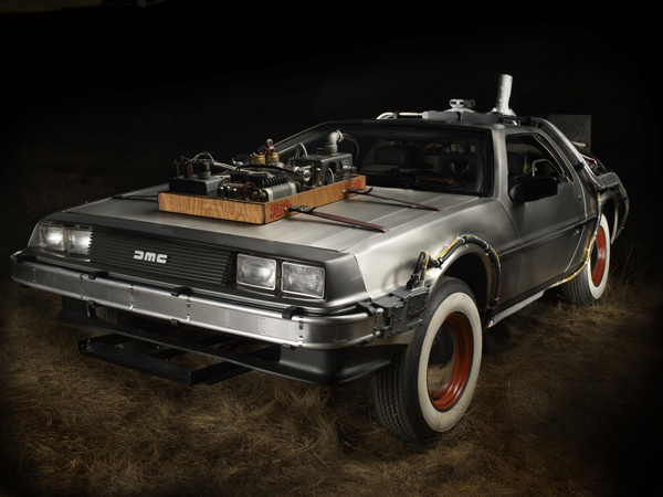 ScreenUsed Announces Acquisition and Restoration of Original Movie Prop DeLorean from 'Back to the Future'