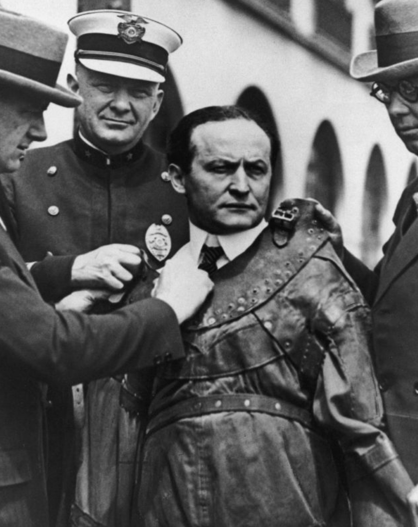 Pawn Stars: Harry Houdini Straight Jacket Matched to Vintage Photo ...
