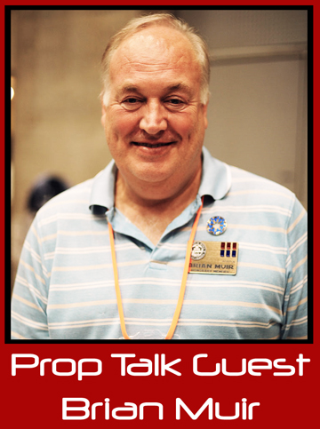 "Prop Talk Podcast #011 – Brian Muir, Film Industry Sculptor (""Darth"