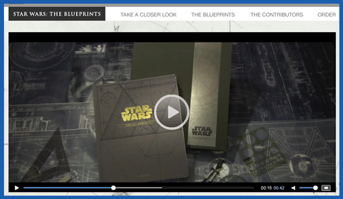 Star wars the blueprints book to feature original production below malvernweather Image collections