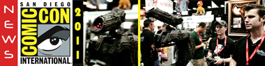 San Diego Comic Con 2011: Video Interview with Brandon Alinger, Prop Store (Wrath of Khan, The Empire Strikes Back, Predator)
