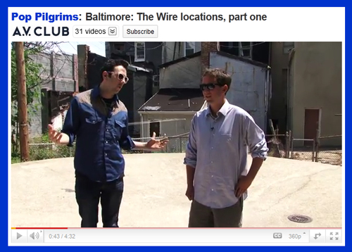 "A.V. Club Visits Iconic Filming Locations as Part of Their ""Pop Pilgrims"" Video Series"