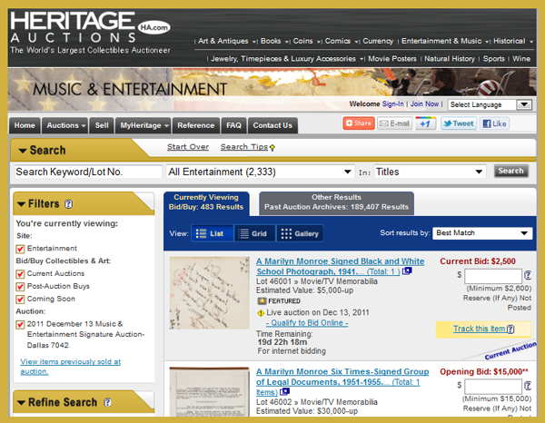 Heritage-Music-and-Entertainment-Memorabilia-Auction-Event-Catalog-December-2011-Dallas-Portal-x600