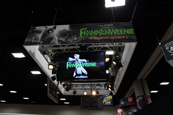 San Diego Comic Con 2012: Models from Disney's 'Frankenweenie' On Display