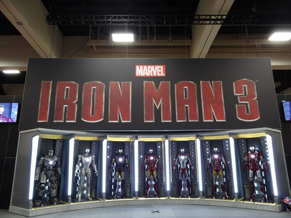 San Diego Comic Con 2012: Marvel Comics Brings 'Iron Man 3' Armor To Exhibit