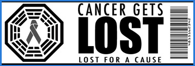 """Cancer Gets LOST"" Charity Memorabilia Auction Online, Proceeds To Benefit the National Brain Tumor Society"