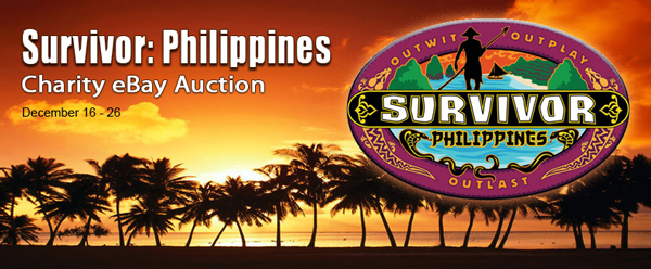 "Charity Auction: Auction Cause Offers Original Props from ""Survivor Philippines"" on eBay"