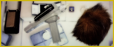 "Pawn Stars Authentication of ""Star Trek: The Original Series"" TV Props (Communicator, Phaser, Tribble)"