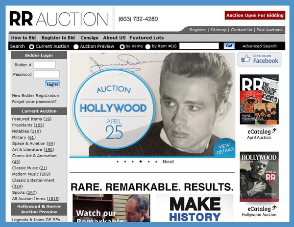 RR-Auction-Hollywood-Auction-Movie-Television-Memorabilia-Collectibles-Autograph-Poster-Script-Prop-Costume-Catalog-Download-Portal