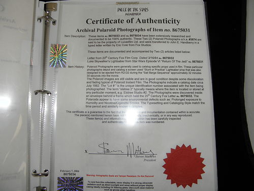 Piece-of-the-Stars-Memorabilia-Elstree-Props-Elstree-Studios-eBay-Auction-Star-Wars-Return-of-the-Jedi-Lightsaber-COA-02