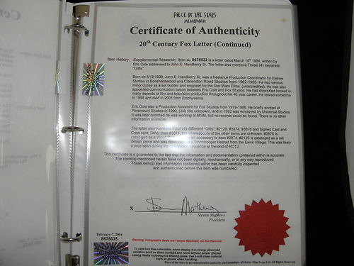 Piece-of-the-Stars-Memorabilia-Elstree-Props-Elstree-Studios-eBay-Auction-Star-Wars-Return-of-the-Jedi-Lightsaber-COA-04