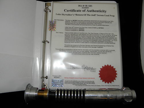 Piece-of-the-Stars-Memorabilia-Elstree-Props-Elstree-Studios-eBay-Auction-Star-Wars-Return-of-the-Jedi-Lightsaber-COA-05