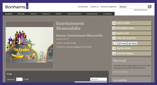 Bonhams-Entertainment-Memorabilia-Auction-Knightsbridge-London-England-June-2013-Catalog-Portal