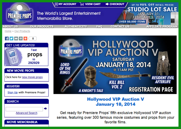 Premiere-Props-Hollywood-VIP-Auction-V-TV-Movie-Prop-Costume-Hollywood-Memorabilia-Live-Auction-Catalog-January-2014-Portal-x600