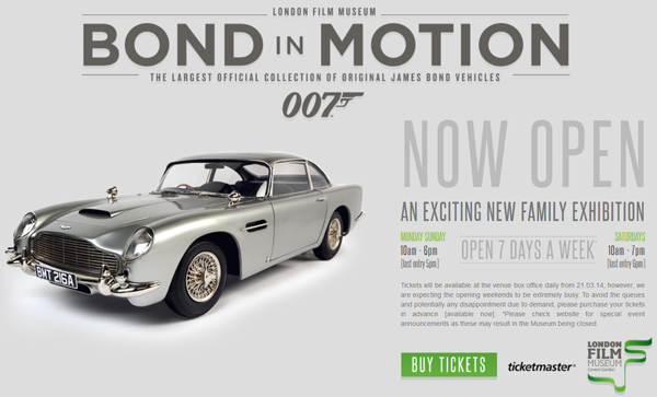 London-Film-Museum-Bond-in-Motion-James-Bond-007-Covent-Garden-Exhibit-2014-Official-Collection-Vehicles-Movie-Prop-Cars-Portal