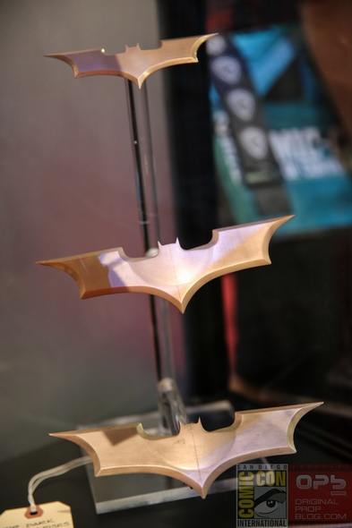 San Diego Comic-Con 2014: DC Entertainment's 75th Anniversary of Batman Props and Costumes at Exhibitor Booth (#SDCC)