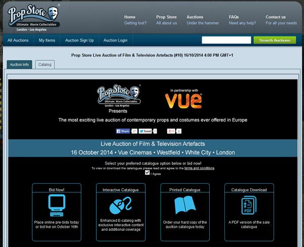 Prop-Store-Live-Auction-of-Film-and-Television-Artefacts-VUE-October-2014-Catalog-Movie-Prop-Memoraiblia-Portal