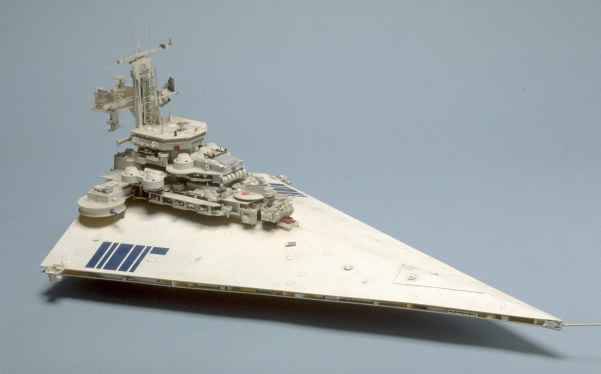 exclusive video interview colin cantwell on 74 75 star star wars colin cantwell star destroyer prototype model