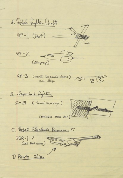 Colin-Cantwell-Concept-Artwork-1974-1975-Juliens-Auction-George-Lucas-Writings-Notes-Jason-DeBord-Original-Prop-Blog